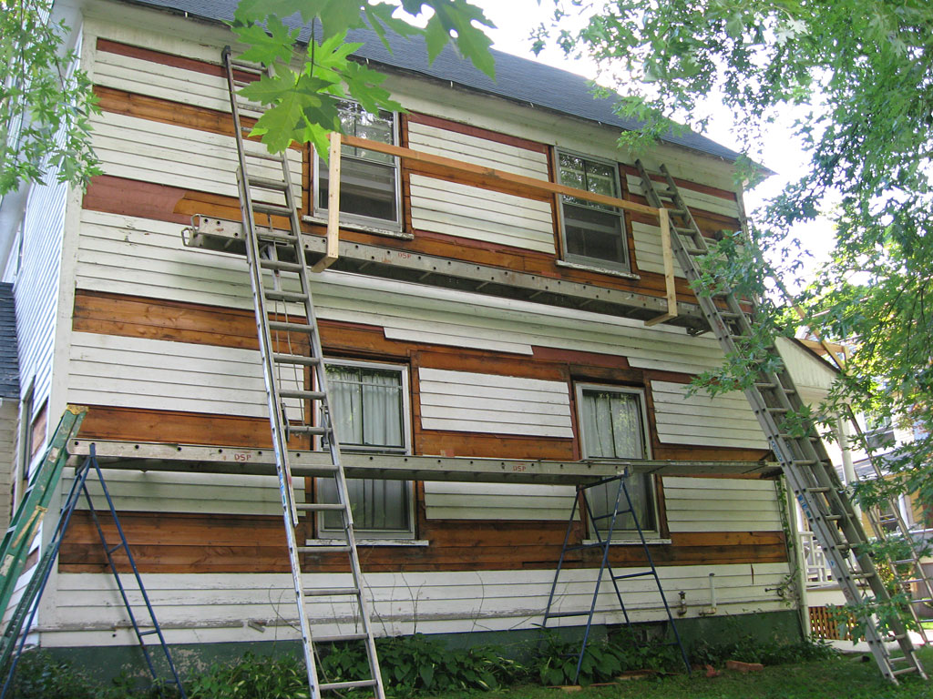 Victorian house insulated from exterior - Exterior house insulation under siding ...