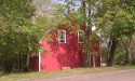 gable-end-wall-painted-red