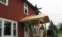 porch roof sheathing