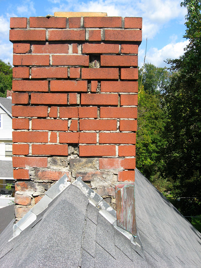 Repointing A Chimney : Chimney repoint or rebuild building construction